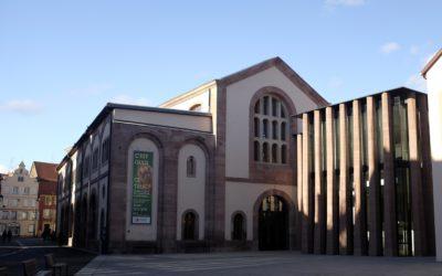 La Bibliothèque Humaniste de Sélestat, trésor de la Renaissance inaugurée en novembre 2018 à Sélestat, Grand-Est