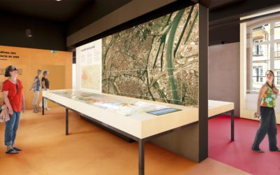 Le Centre d'Interprétation de l'Architecture et du Patrimoine de Strasbourg, en cours