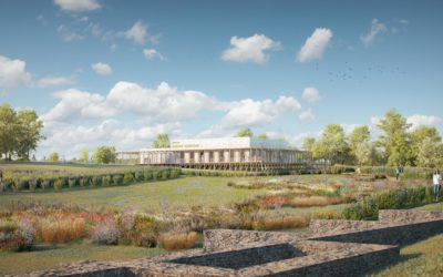 Le musée de site Aquae Segetae à Sceaux-du-Gâtinais, en cours